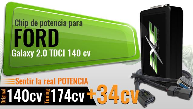 Chip de potencia Ford Galaxy 2.0 TDCI 140 cv