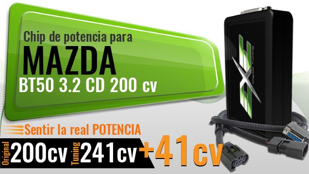 Chip de potencia Mazda BT50 3.2 CD 200 cv