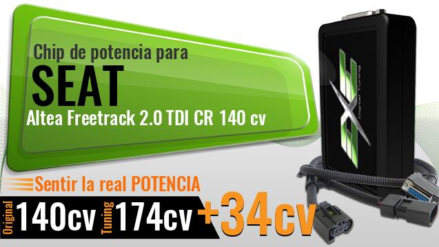 Chip de potencia Seat Altea Freetrack 2.0 TDI CR 140 cv