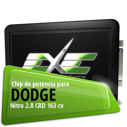Chip de potencia Dodge Nitro 2.8 CRD 163 cv