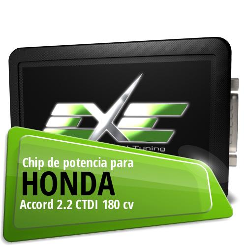 Chip de potencia Honda Accord 2.2 CTDI 180 cv