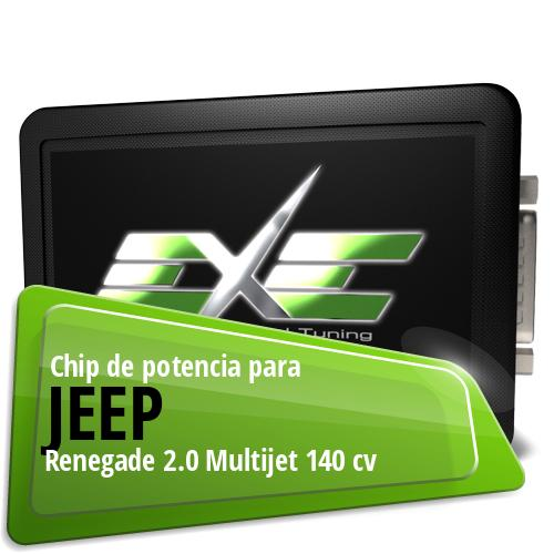 Chip de potencia Jeep Renegade 2.0 Multijet 140 cv