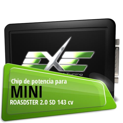 Chip de potencia Mini ROASDSTER 2.0 SD 143 cv